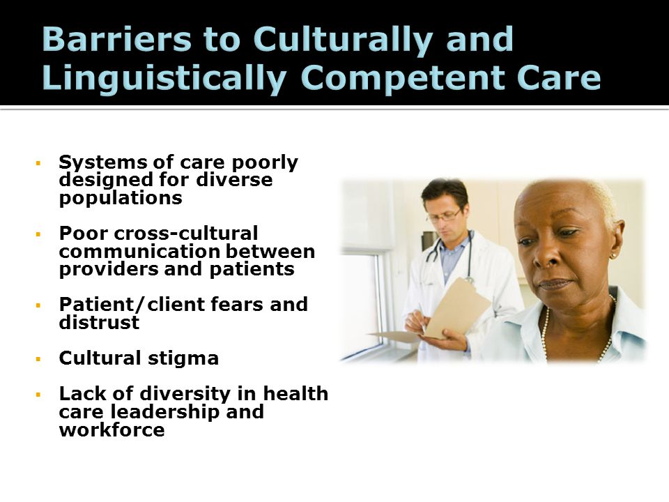 Implementing the enhanced culturally and linguistically