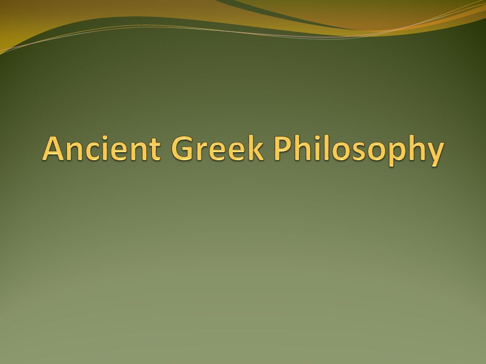 an introduction to the dualism in greek philosophy in ancient greece Plato: plato was an ancient greek philosopher who and style of english translations of ancient philosophy the great plato translation ancient greece died.