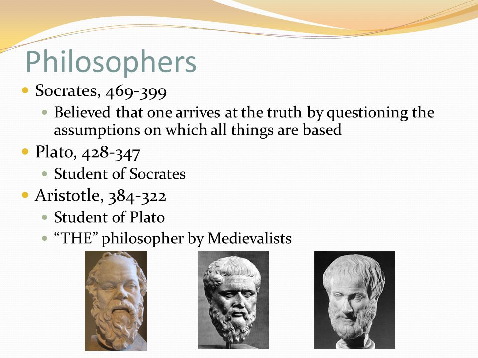 the different philosophies of socrates plato and aristotle Likewise, in the dialogues of plato, socrates often appears to support a mystical side,  (largely ignored by plato and aristotle).