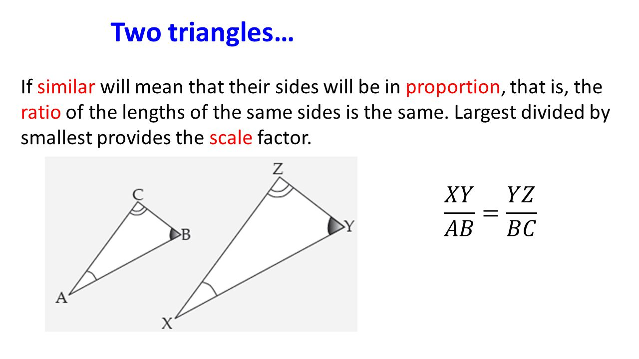 worksheet Similar Triangles Proportions Worksheet similar triangles and other polygons ppt video online download two