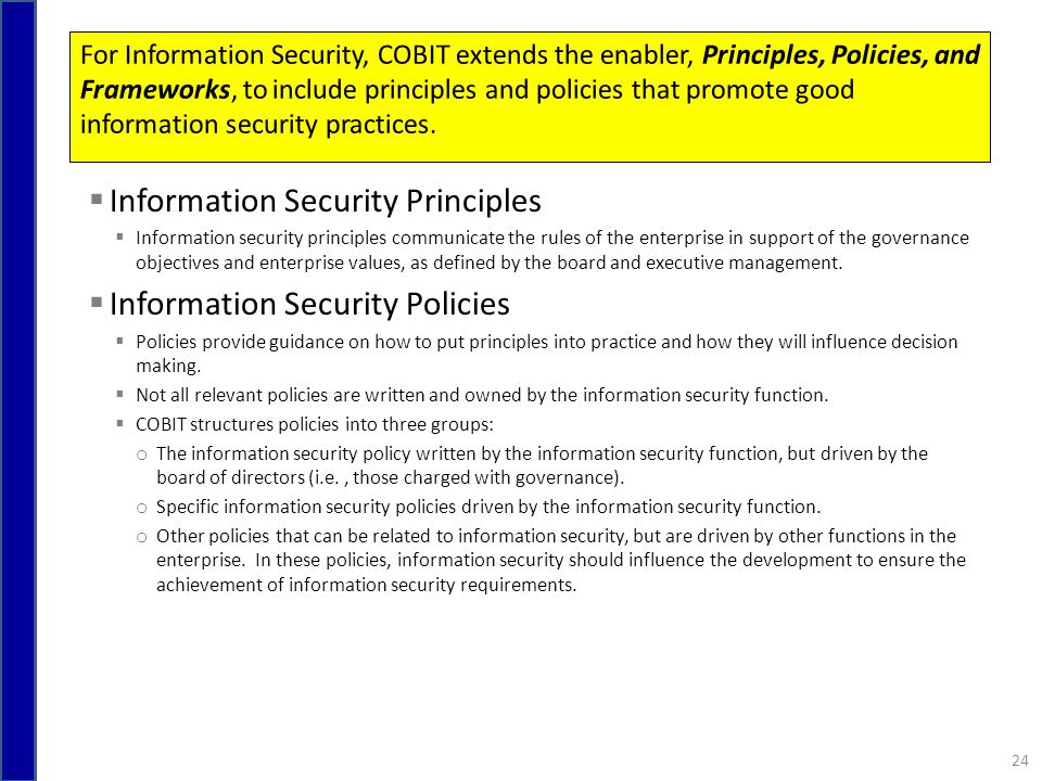the principles and policies of information security essay Department of information systems and supply chain management spring 2017  syllabus  format of true/false with justification, multiple choice, and short essay  questions exams will  academic integrity policies: students in the bryan  school must conform to all existing principles found in uncg's academic  integrity.