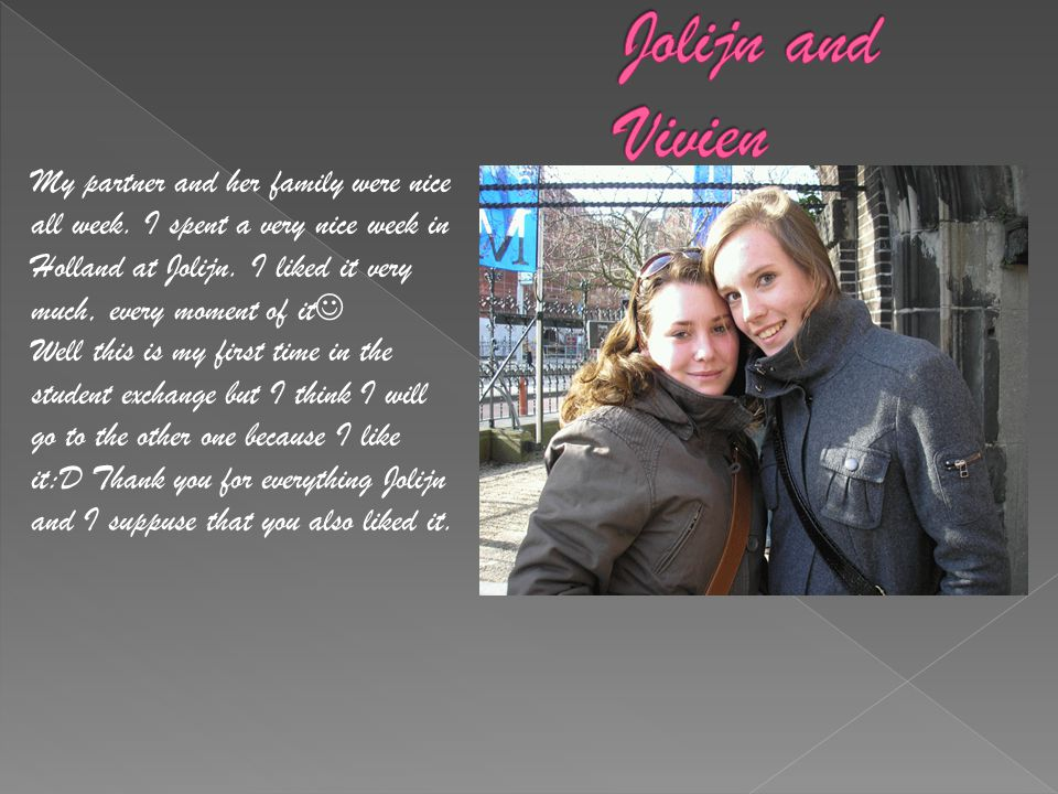 Jolijn and Vivien