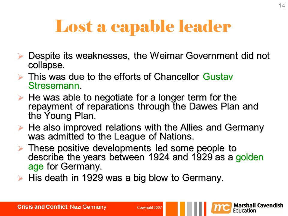 an analysis of the collapse of weimar germany and the democratic government The weimar republic was made after world war i, an attempt of the germans in governing a democratic government it faced many challenges in the form of left and right wing extremists and military when the great depression emerged, germany was on the verge of social and economic crisis where many germans were unemployed and experienced poverty.