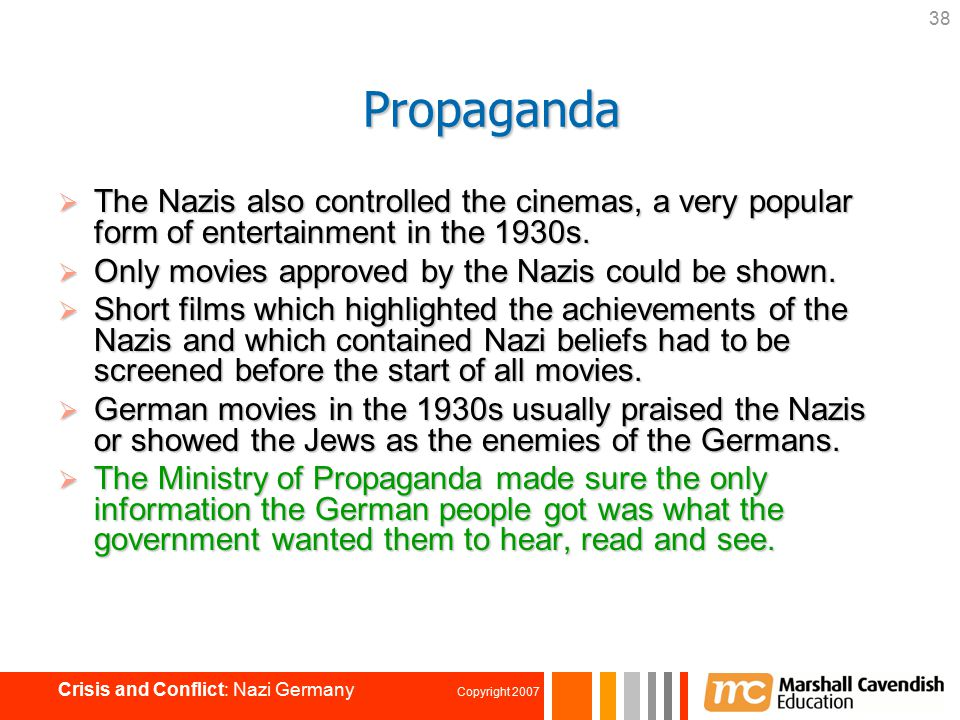 Chapter 4: Authoritarian Regimes — Case Study: Nazi Germany - ppt ...