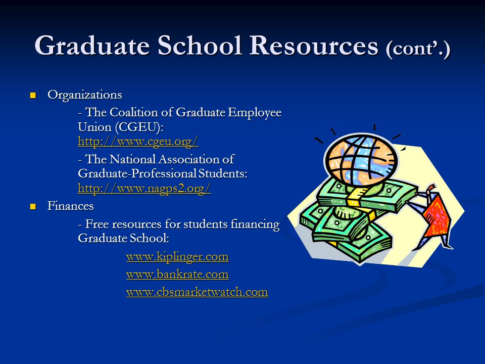 graduate school resources