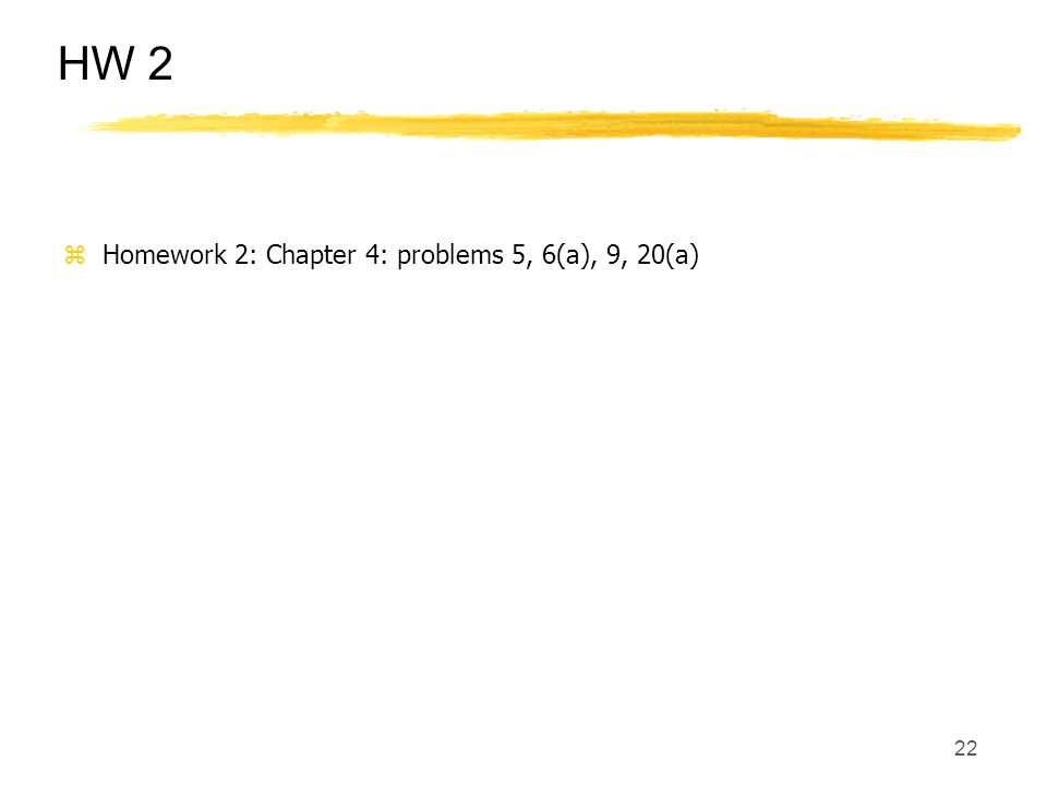 chapter 5 hw problems 2012-10-11 notes: chapter 5 9/27  hw 5 (due 10/26) hw 5pdf hw 5    last updated 9/1/2010.