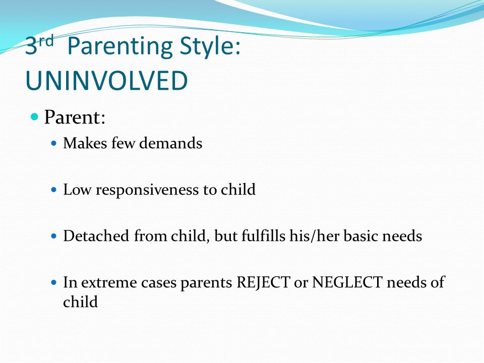 Sample Essay Papers Observation And Rejecting Neglecting Parenting Style The Different Parenting  Styles Essay  Parenting Styles Have Been Essay On Science And Society also English Creative Writing Essays Observation And Rejecting Neglecting Parenting Style Custom Paper  The Yellow Wallpaper Essays