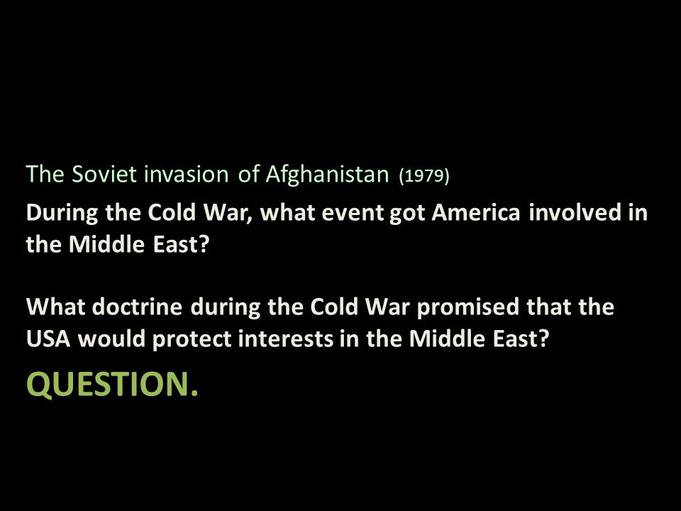 the repercussions of the soviet invasion of afghanistan in 1979 Afghanistan, the last cold war relic colin graham the 1979 soviet invasion, properly handled, would have led to a superpower rapprochement, no burkas, and fewer white house hawks.