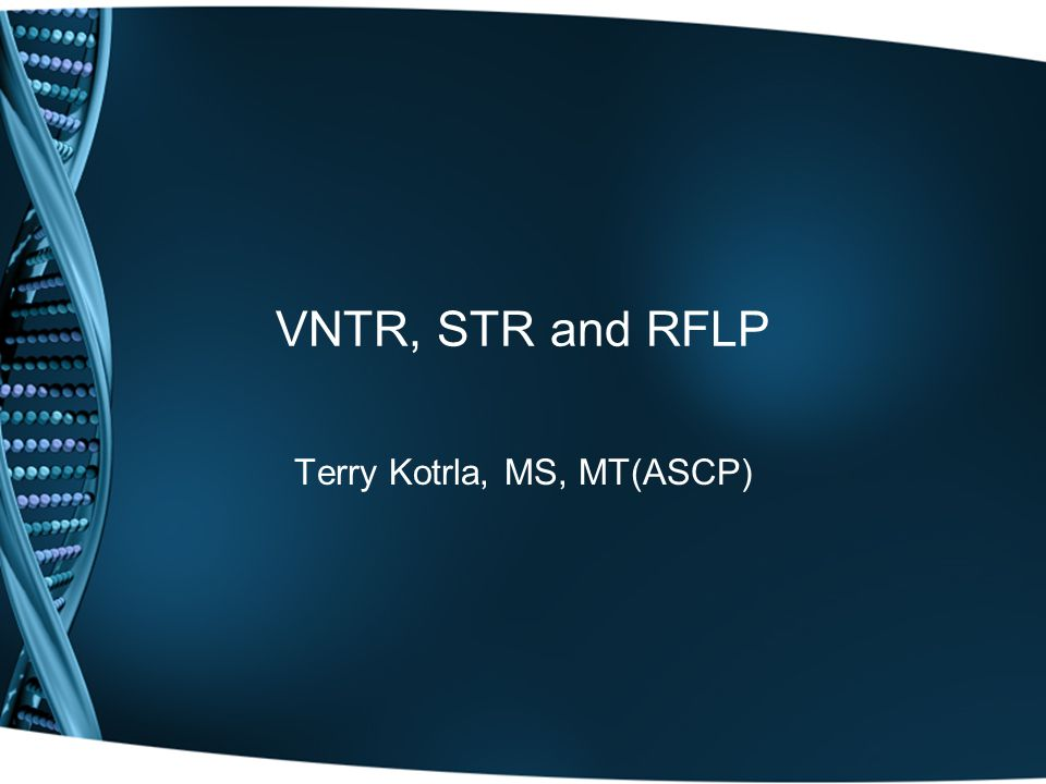 Terry Kotrla, MS, MT(ASCP)