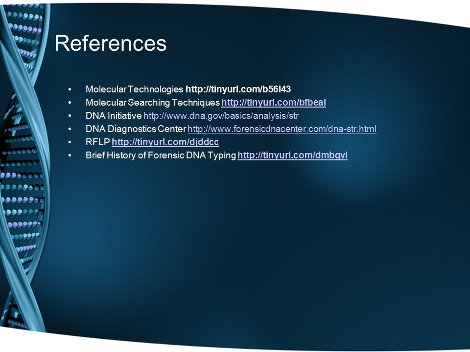 References Molecular Technologies