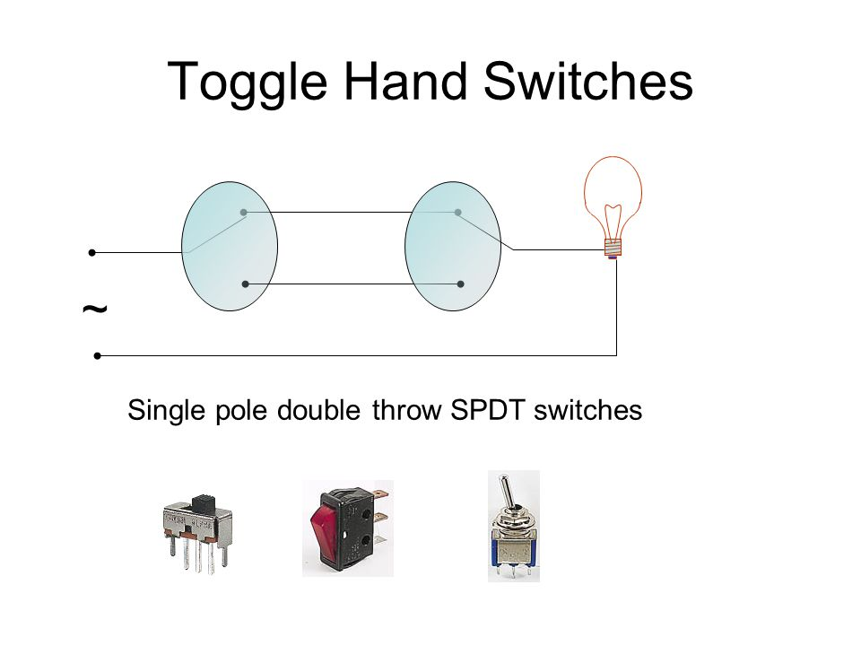 diagram for wiring single pole double throw toggle logic control. - ppt video online download wiring diagram for a single pole light switch