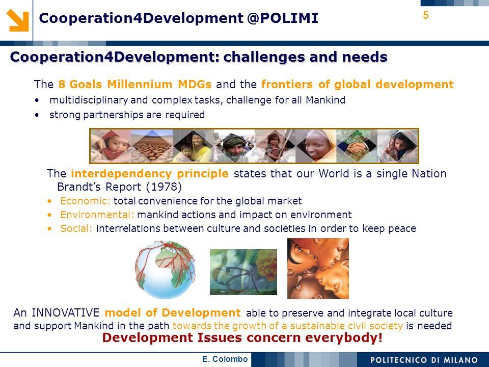 Cooperation4Development @POLIMI