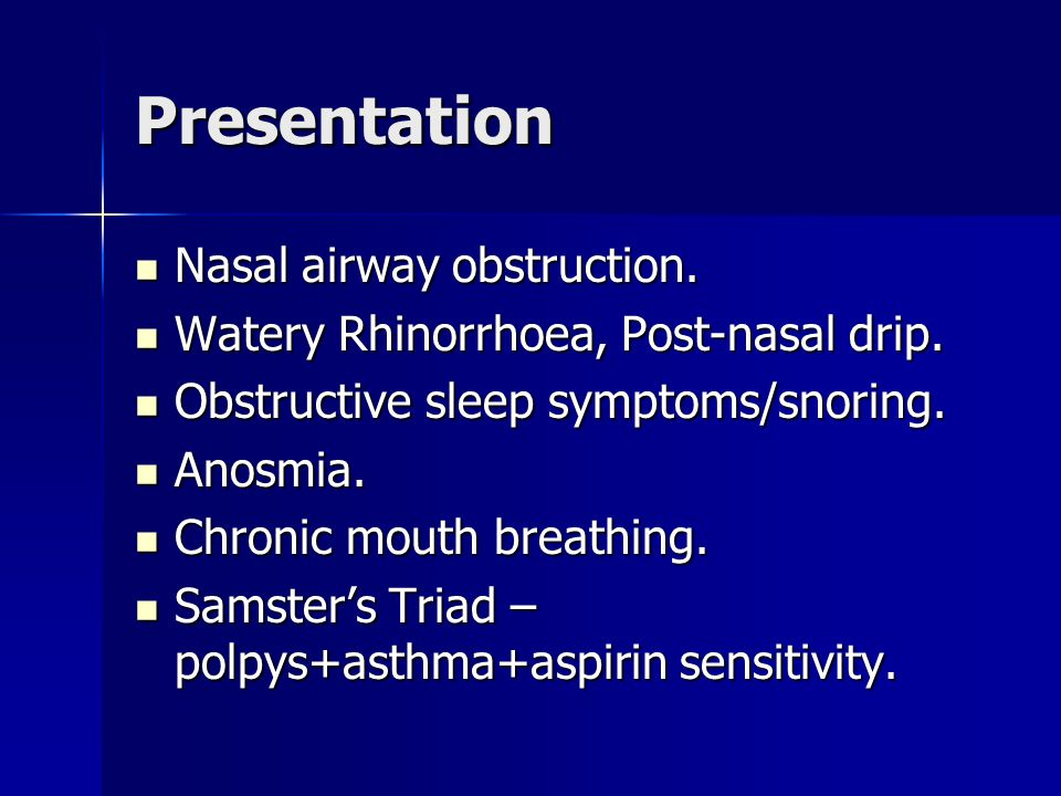Nasal Polyps By Alex Pearce Smith Ppt Download