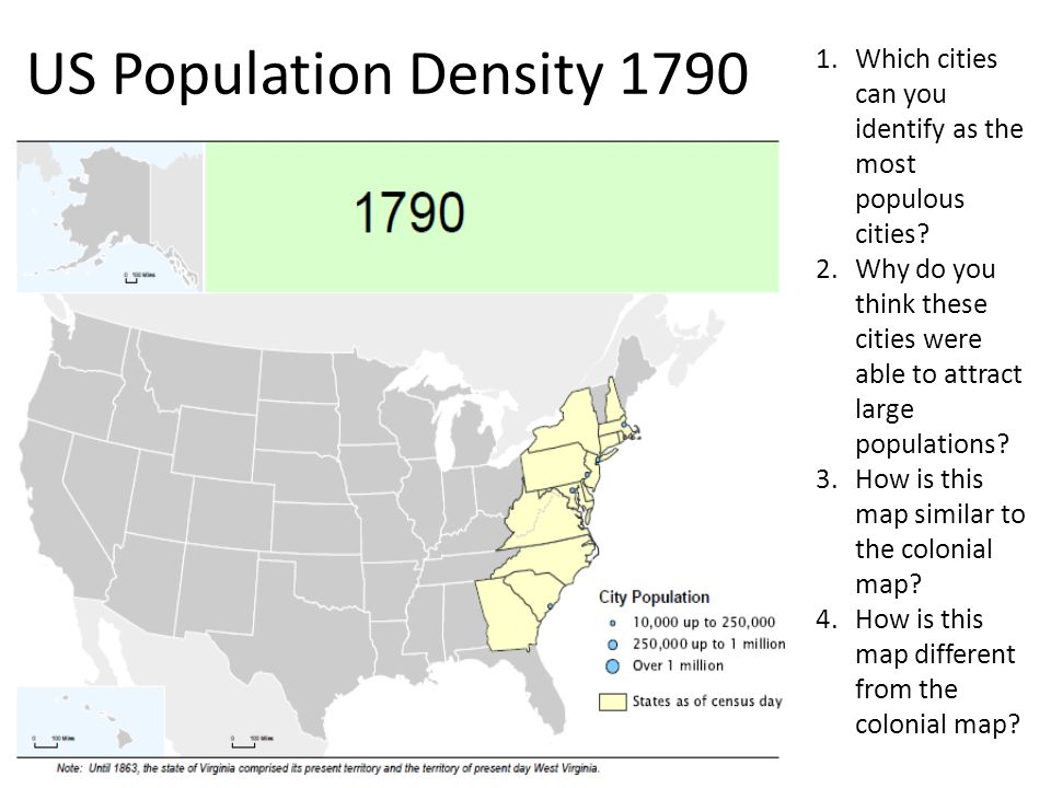Hierarchy Map Analysis Activity Ppt Download - Map of us in 1790