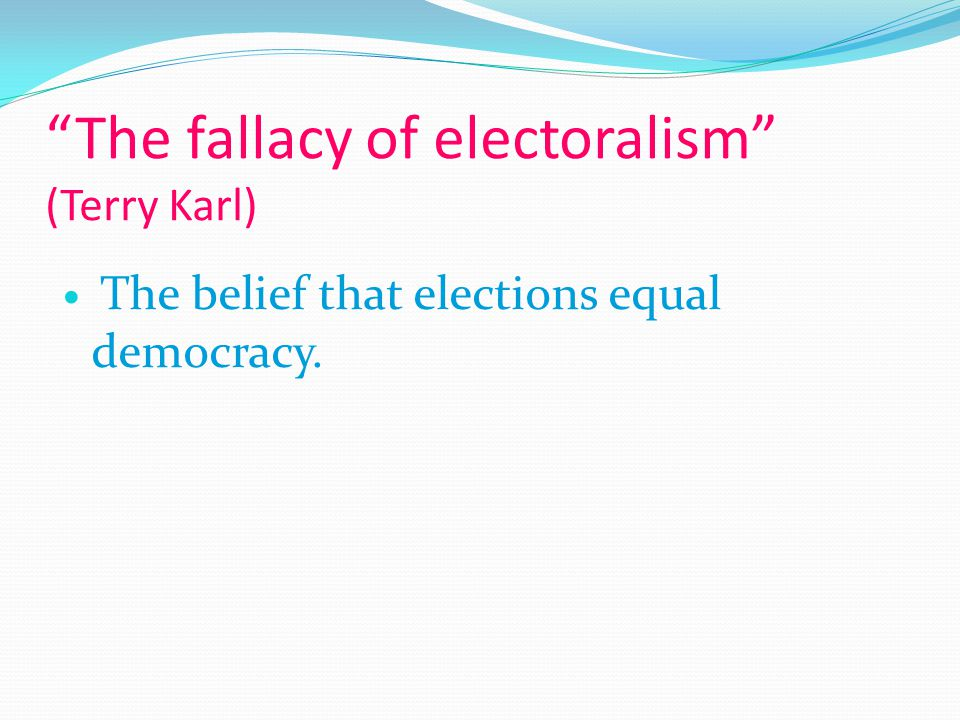 minimalist and maximalist democracy Political finance reform is also linked to the stability of democracy itself because if   one is a minimalist pattern, another a maximalist pattern and in between are.