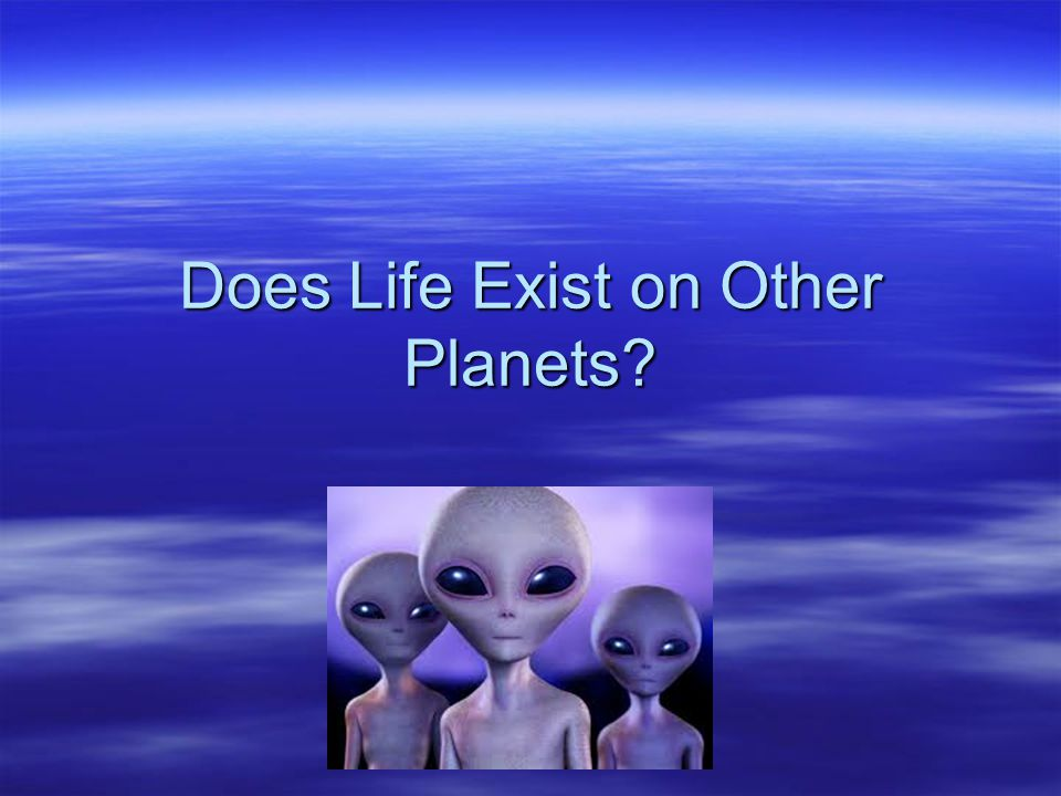 Life on other planets essay