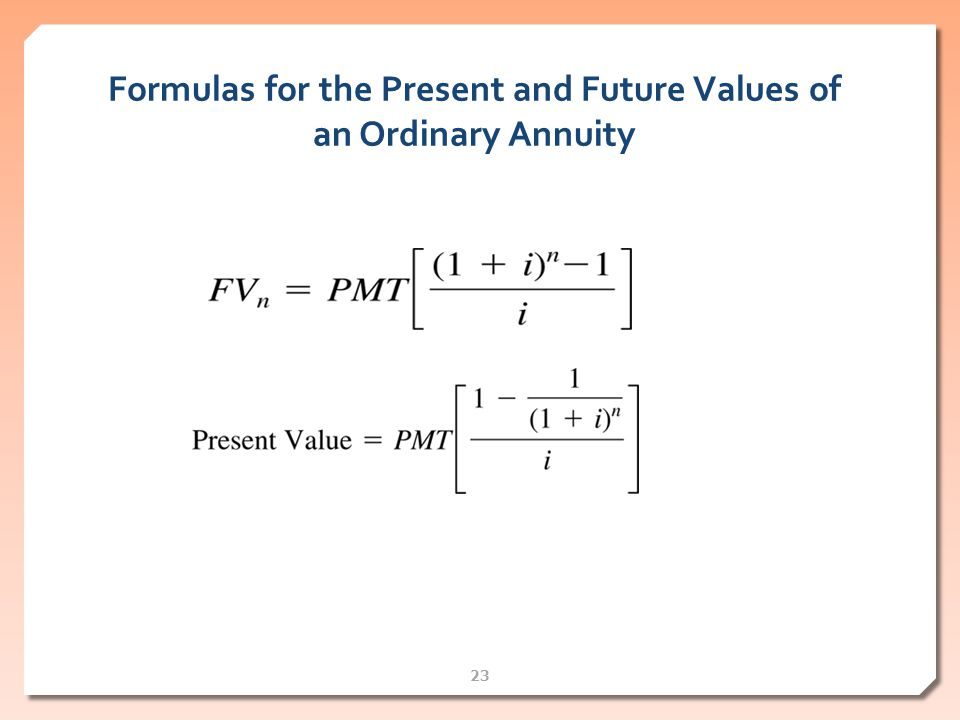 Annuity Payment Formula & Free Annuity Calculator for Excel ...