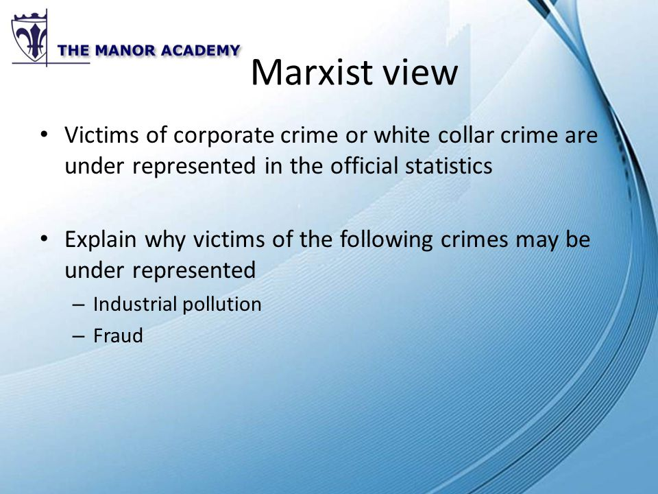 Marxist views on official statistics