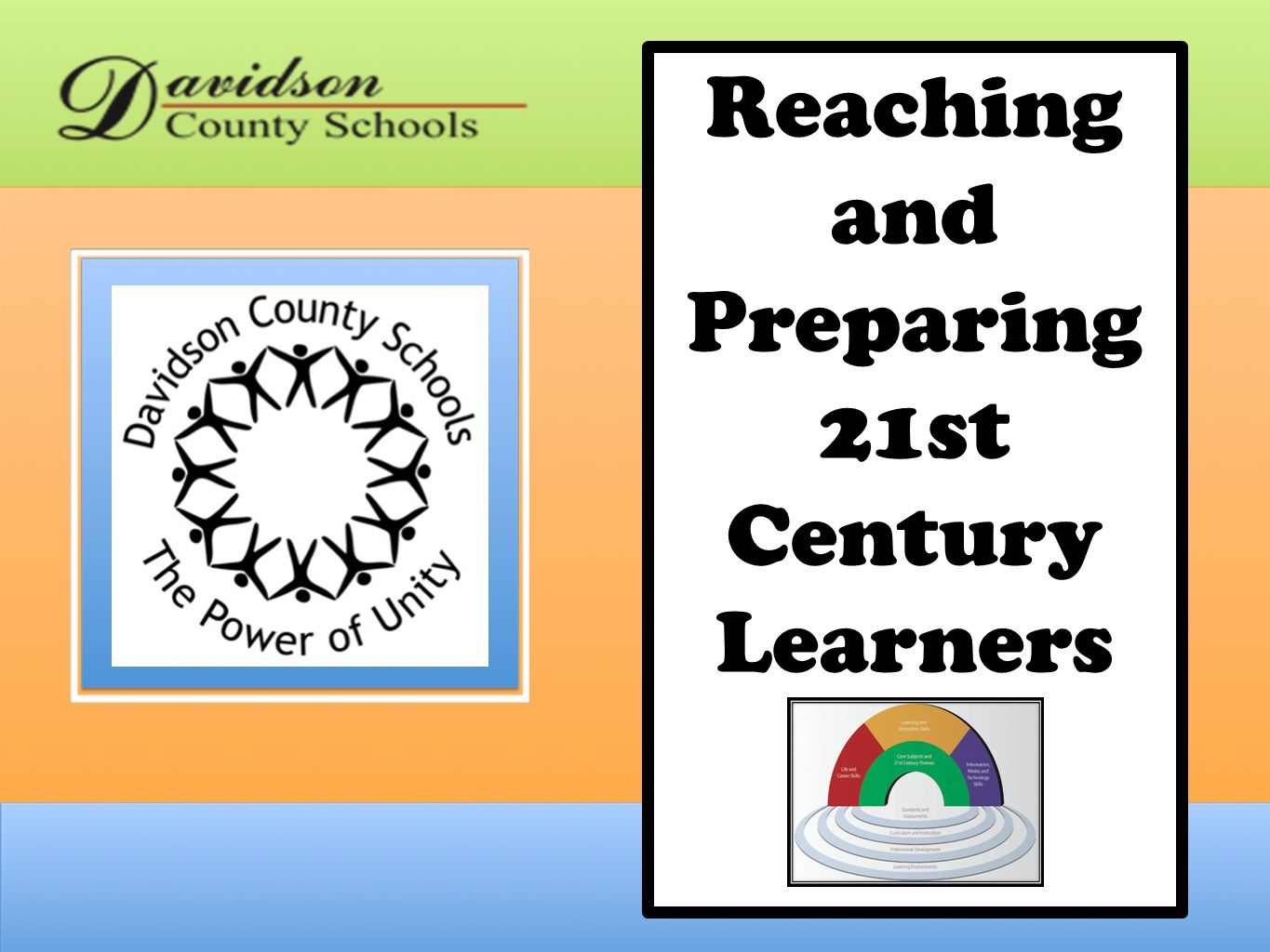 Reaching and Preparing 21st Century Learners