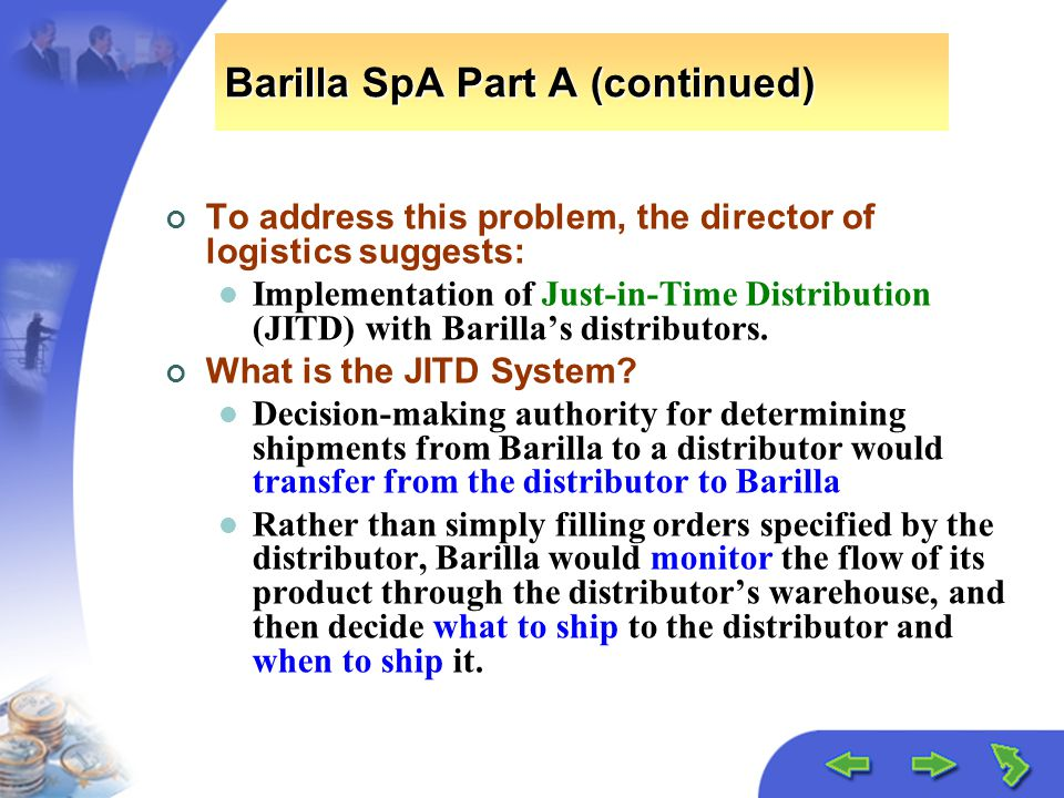 barilla case study principal challenges and