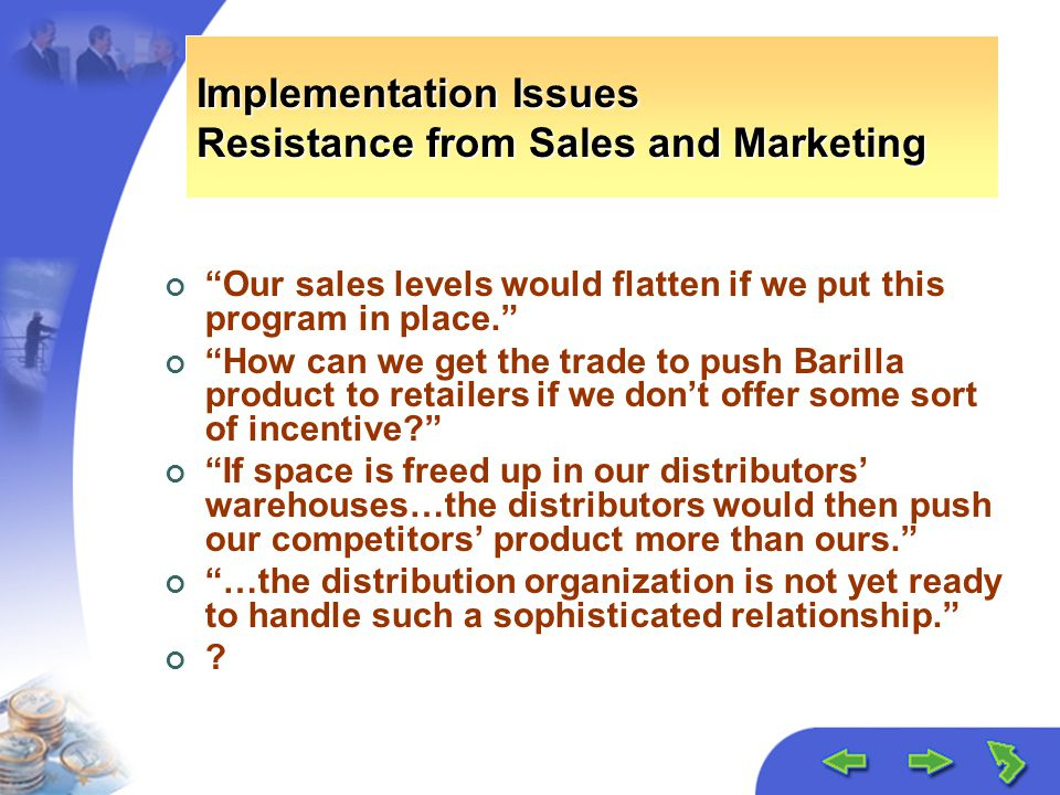 barilla jitd program Barilla spa case study  1- heavy investment in information technology in order to implement the jitd program 2- the  how to effectively implement jitd at barilla.