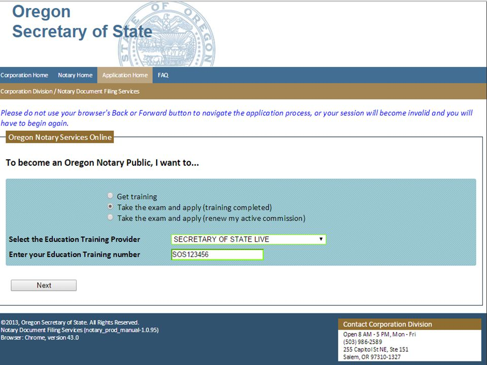 Notary seminar secretary of state corporation division ppt video oregon notary public seminar ccuart Image collections
