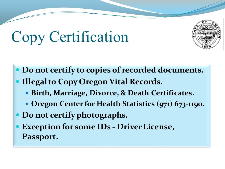 Notary seminar secretary of state corporation division ppt video 50 oregon notary public seminar yadclub Images