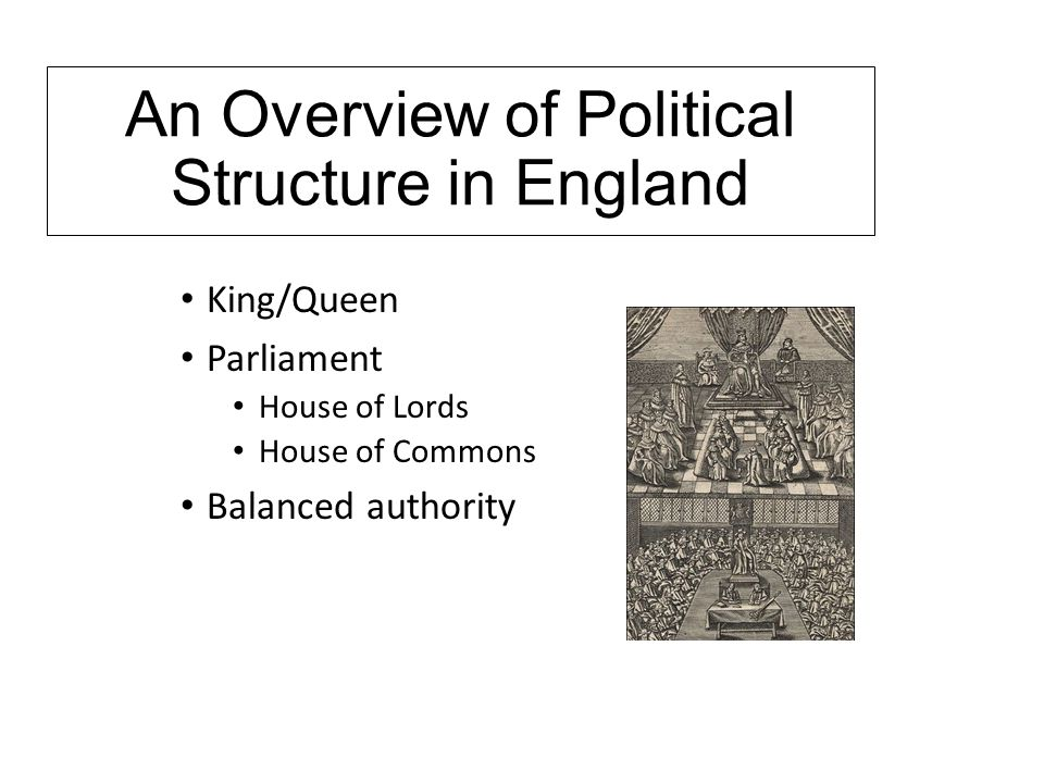 summary of politics and the english As this historical overview shows, the british political landscape in general has  until very recently been characterized by a remarkable stability.