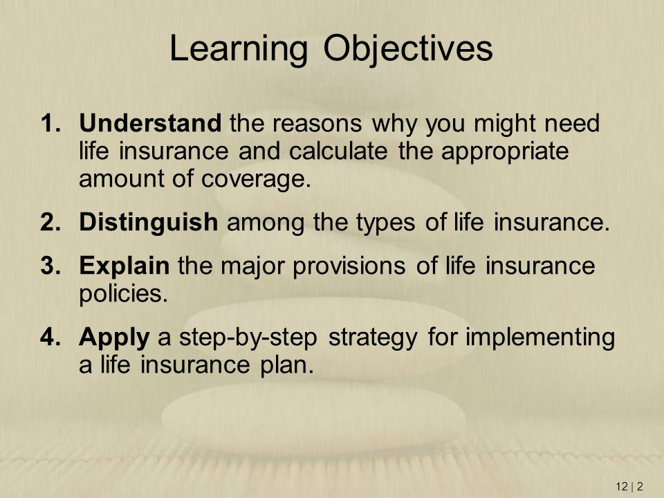 objectives of life insurance Objectives of research study  the single largest innovation in the field of life insurance in the past several decades  where the objective is only risk cover .