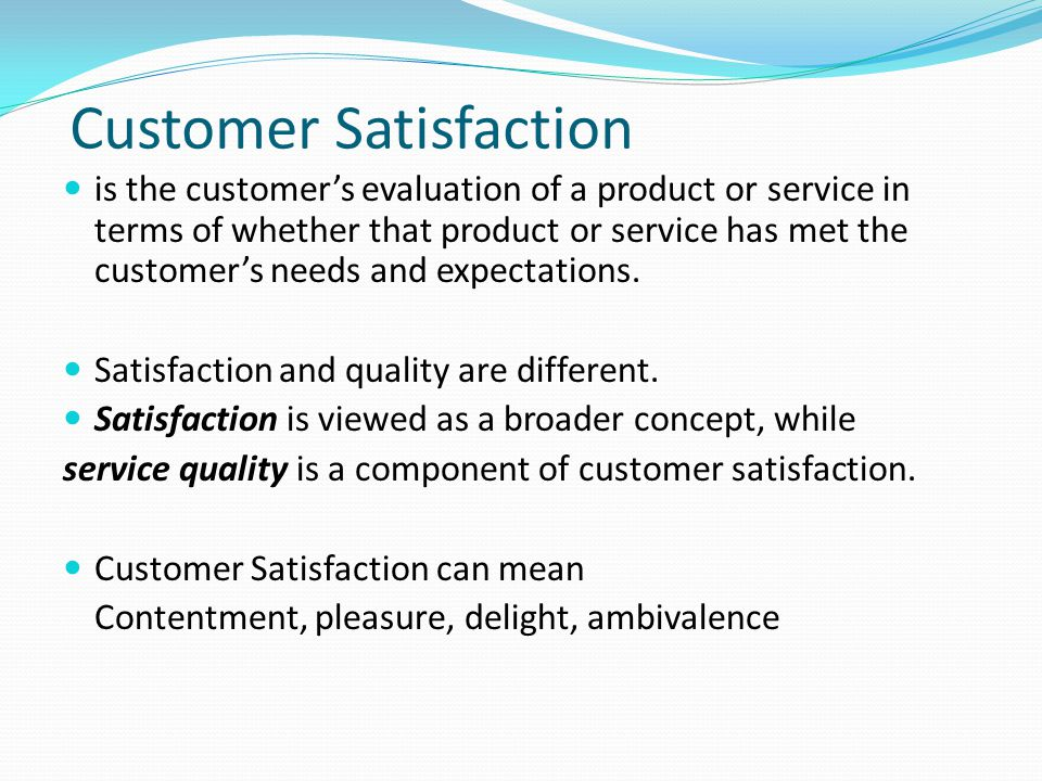 customer's perception of service quality of Perceived service quality and customer loyalty in retail banking in kenya delivering quality service to customers is for service performance prior to the service encounter and their perception of the service british journal of marketing studies.
