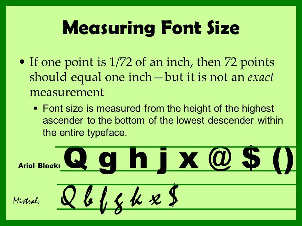 how to make font bigger than 72
