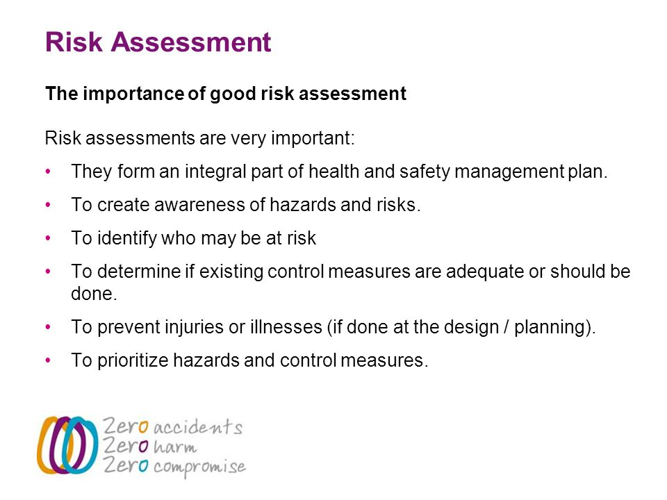 Risk Assessment  An Essential Standard  Ppt Video Online Download