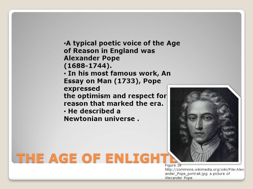 pope essays on man Pope an essay on man - analysis of alexander pope's an essay on man.