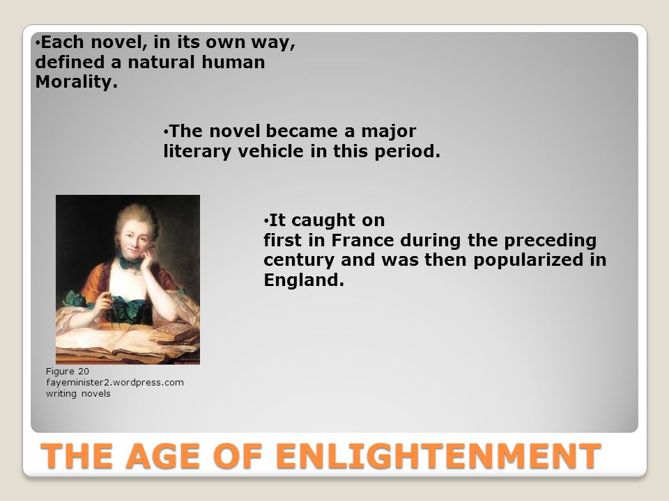 modernity and the age of enlightenment essay Modernity is a concept that affects us all, it is always present and continually changing the beginnings of modernity can be traced back through diverse.