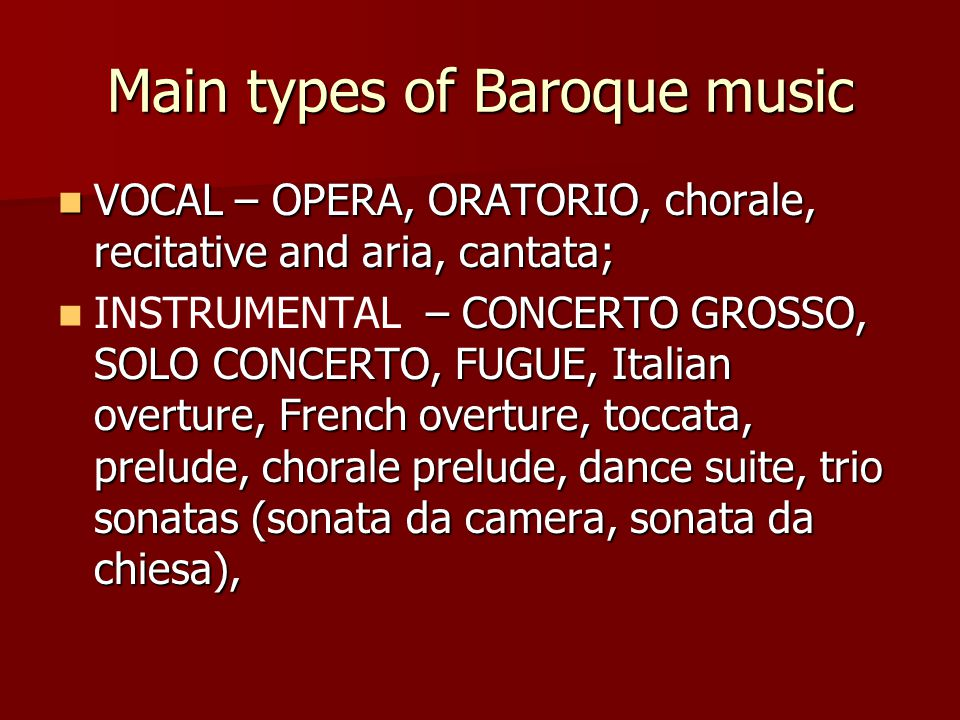 baroque music essay He baroque period of the european musical history falls between the late renaissance and early classical periods, making it about a century and a half between.