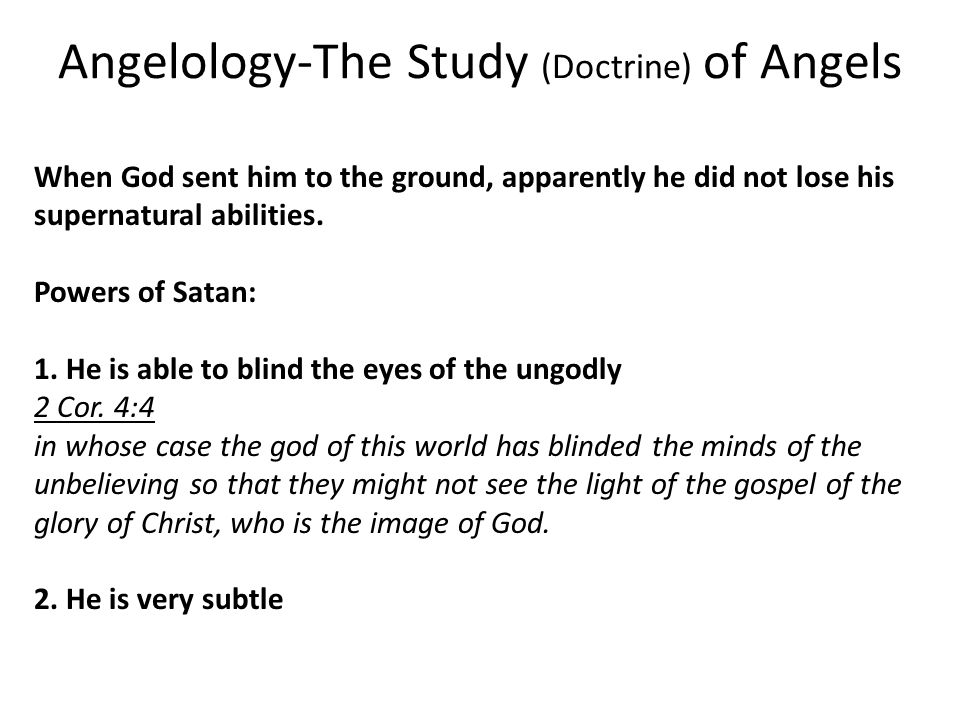 angelology essay Angelology study term papers, essays and research papers available.