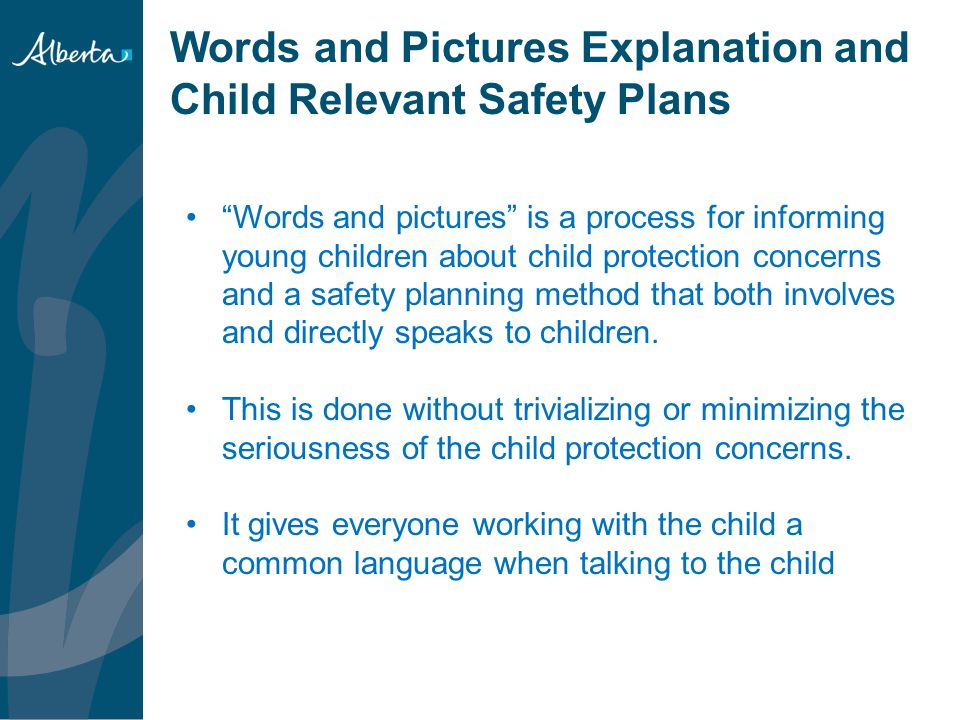 Signs Of Safety Barb Lacroix Child Intervention Practice