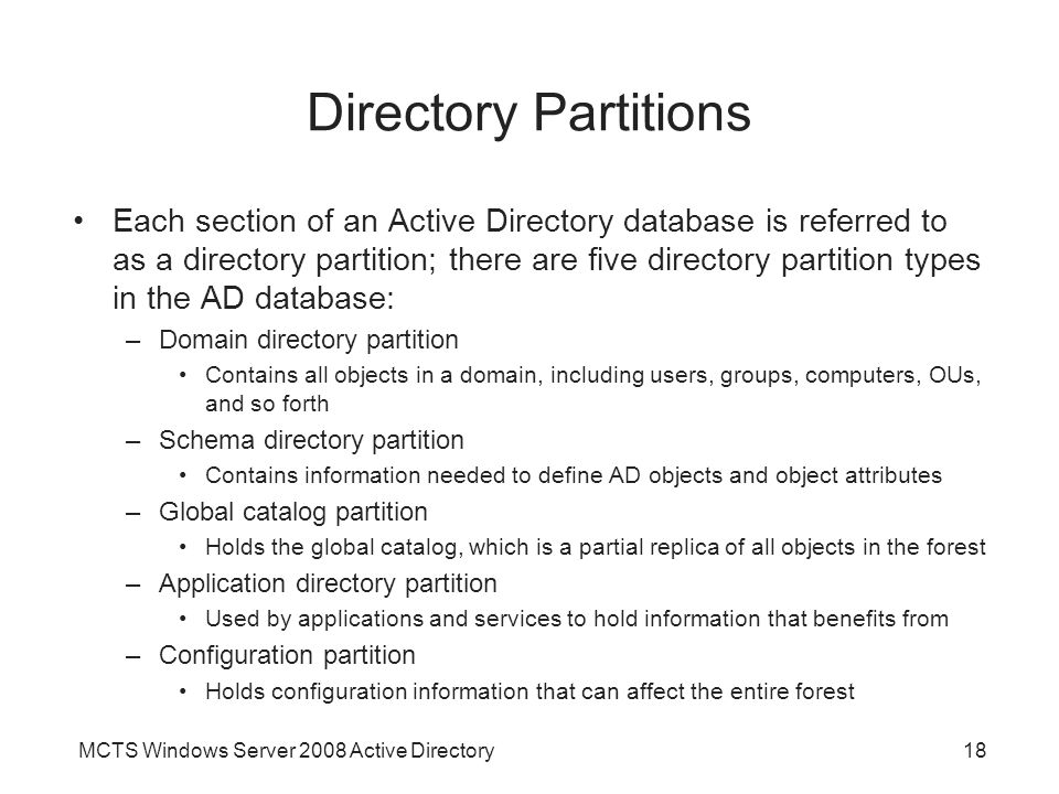 benefits of active directory Before we get to the bad news, let me establish an even playing field by spouting  the benefits of active directory first and foremost, active directory is generally.