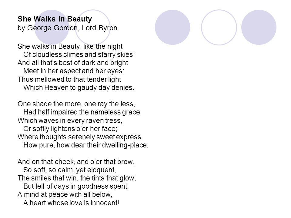lord byron poem