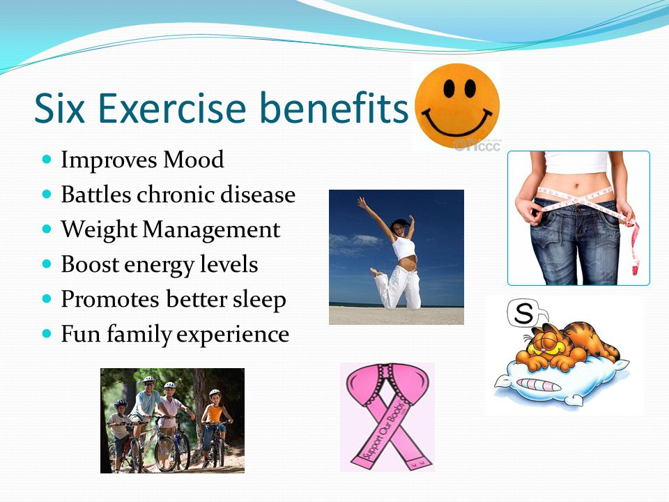 Six Exercise benefits Improves Mood Battles chronic disease