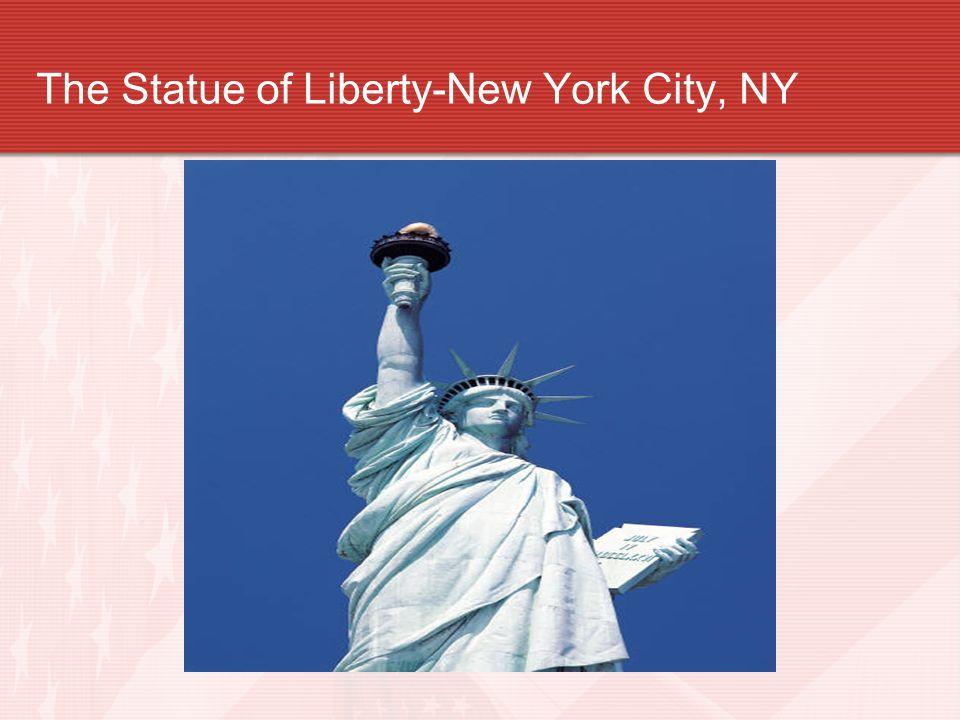 The Statue of Liberty-New York City, NY