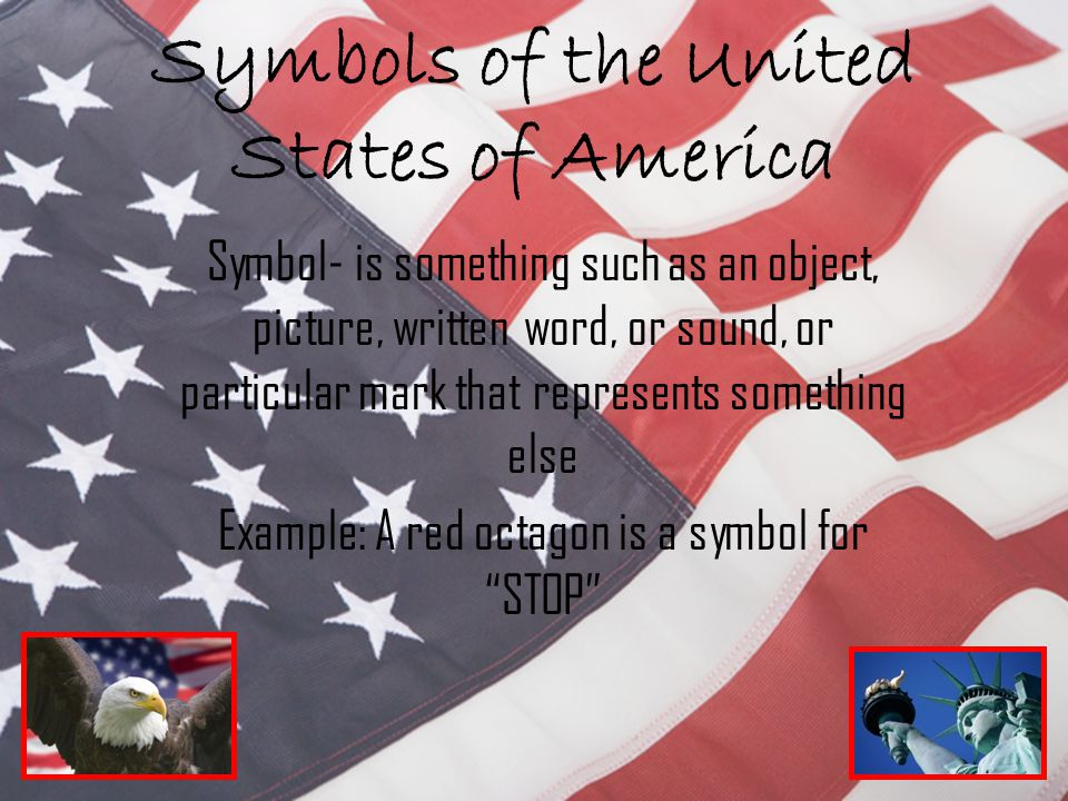 Symbols Of The United States Of America Ppt Video Online Download