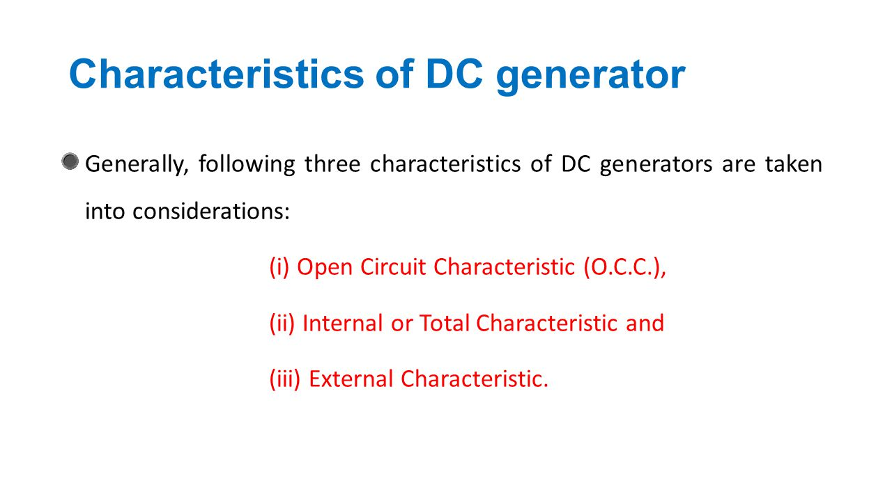 Characteristics+of+DC+generator dc generator chapter ppt video online download