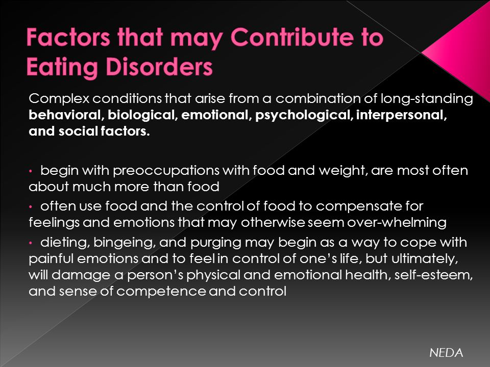 Eating Disorders, Environmental or Biological?