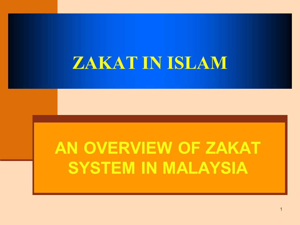 an overview of zakat system in malaysia ppt video online download slideplayer