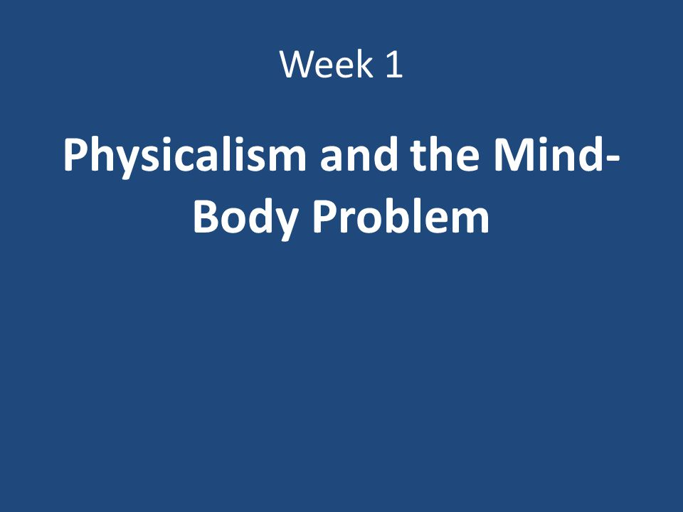 a solution to the mind body problem Mind-body problem and to propose measurement axiom in quantum language are equivalent since our approach is within dualistic idealism, we believe that our linguistic solution is the only true solution ( ie.