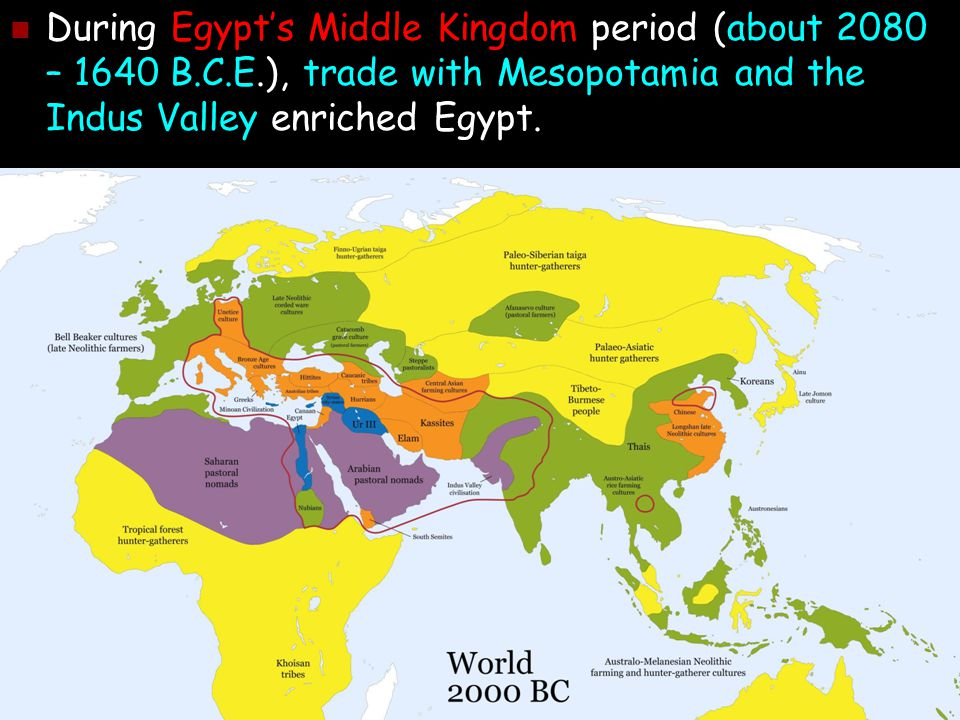 First Age Of Empires Chapter Ppt Download - Map of egypt during the middle kingdom