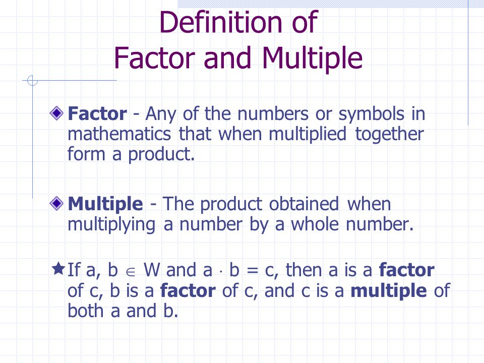 4.1 Factors and Divisibility - ppt video online download