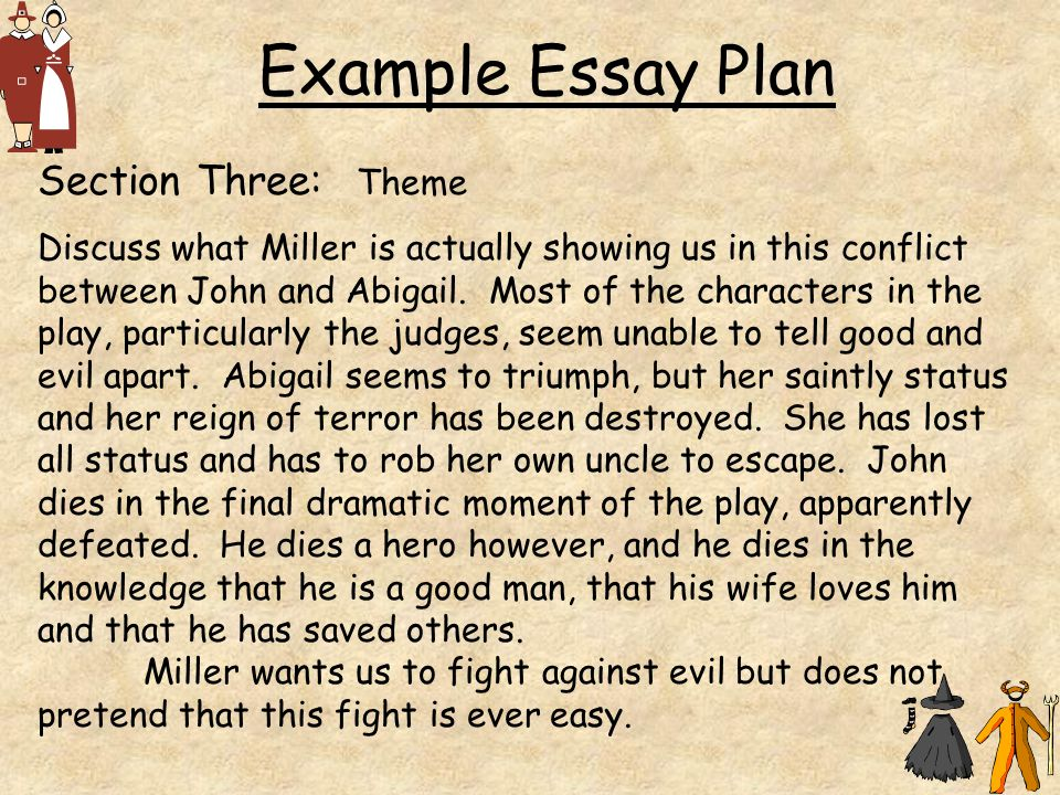 millers dramatic presentation essay Essays and criticism on arthur miller, including the works the man who had all  the  so that what miller gains in dramatic force by presenting events swiftly and .