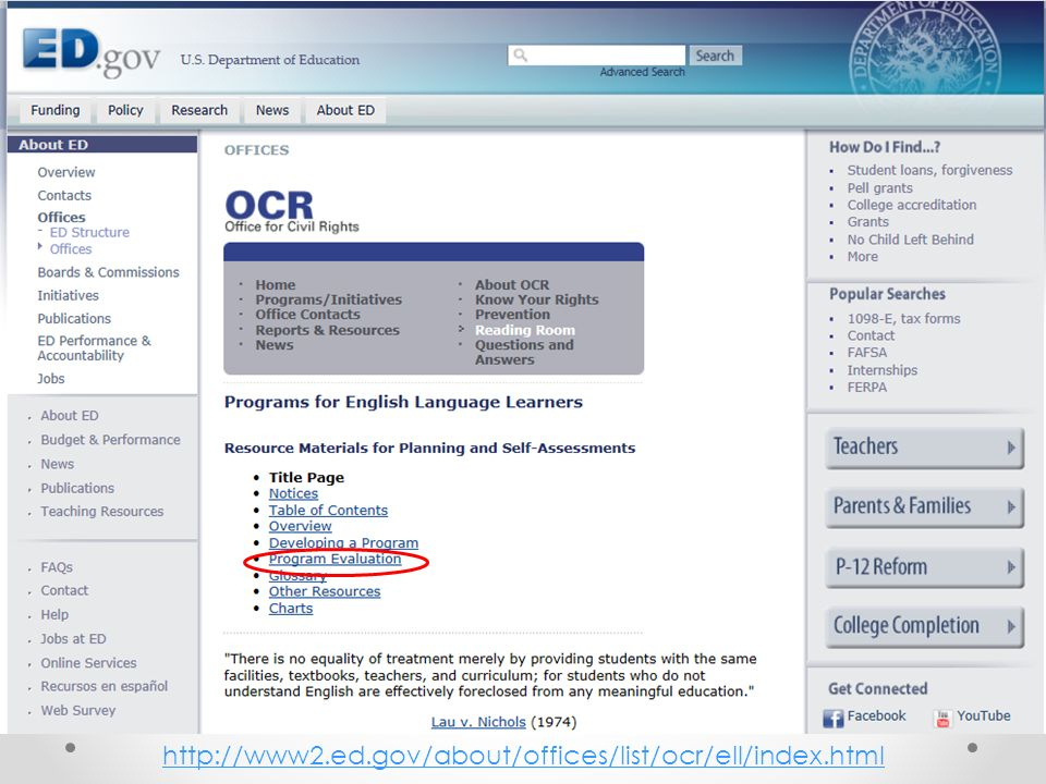 OCR Planning and Self-Assessment Guide